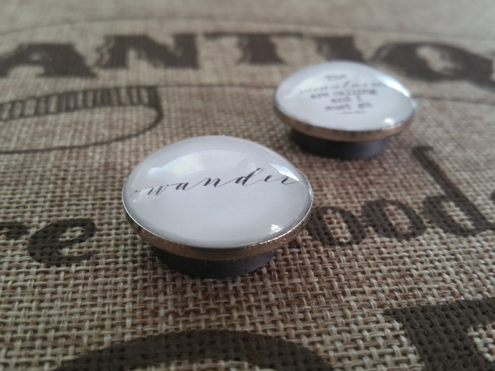 calligraphy quote magnets - Fifty8 Acres