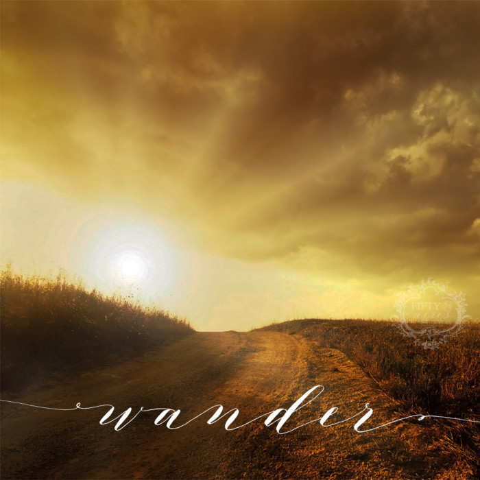 wander print - Fifty8 Acres